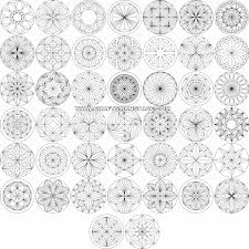 Chip Carving Patterns Interesting Round Designs Suitable For Chip Carving