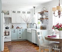 cottage kitchen ideas. Delighful Ideas Aqua And White Kitchen Cabinets To Cottage Kitchen Ideas C