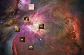 Astrofísica y Física: El Hubble fotografía embriones de sistemas  planetarios en la Nebulosa de Orión