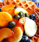 apricot sauce for waffles or pancakes