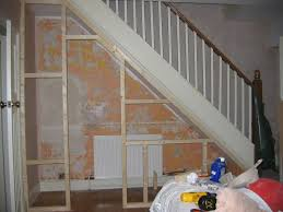 under stairs storage door