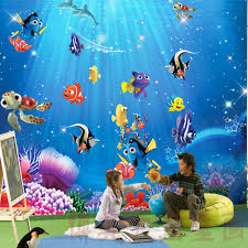 real underwater world. Simple World Mural Wallpaper Child Real Underwater World Free Shipping Throughout Real World S