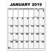 print a calendar 2019 maxiaids large print calendars
