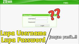 Temukan jawabannya dalam artikel username dan password baru modem indihome zte f609. Cara Mengatasi Lupa Password Login Modem Zte F609 Indihome Youtube