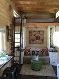 This Teeny Tiny House Is Huge On Style | Stone fireplaces, Mantle ...