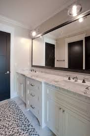 silver framed bathroom mirrors. Modren Mirrors Gorgeous Design Black Framed Bathroom Mirror Calcutta Marble Counter Tops  White Color Desk Drawer Wooden Handmade Wonderful Ceramic Throughout Silver Mirrors R