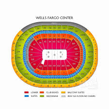Ppac Seating Chart Wells Fargo Center Interactive Seating Chart Facebook Lay