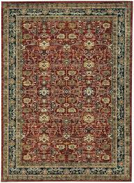 rugs e market garnet area rug used karastan for