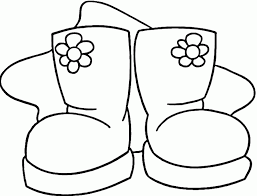 Small Picture Winter Boots Coloring Page Coloring Home