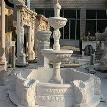 white marble water fountains outdoorwholesale indoor fountainslarge outdoor fountainsfountains for salelowes fountainschinese water fountains sale o54