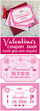 Make My Own Coupon Free Printable Coupon Book For Your Sweetie Use My Coupon Ideas Or