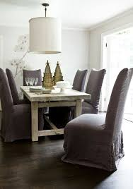 purple dining chairs contemporary room melanie turner intended for slip covered decor 8