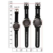 Watch Band Size Chart Mopix Fenix 5 Watch Size Chart