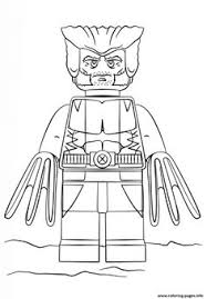 Small Picture Mighty Micro Wolverine LEGO Coloring Sheets Pinterest