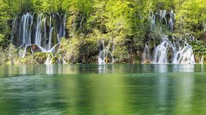 Waterfalls Waterfall Cool Forest Nature Fun Desktop Backgrounds for