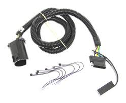 curt t connector vehicle wiring harness for factory tow package 5 curt t connector vehicle wiring harness for factory tow package 5 pole flat trailer connector curt custom fit vehicle wiring c56515
