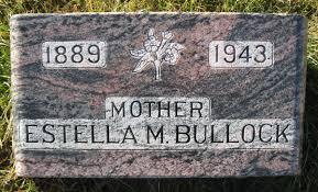 Estella Mae Clawson Bullock (1889-1943) - Find A Grave Memorial