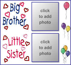 erfreut brother and sister picture frames zeitgenössisch rahmen imikimi birthday frames wishes for