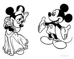 Small Picture Printable Minnie Mouse Coloring Pages For Kids Cool2bKids