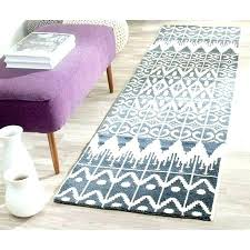 woven runner rug new hand wool regarding 3