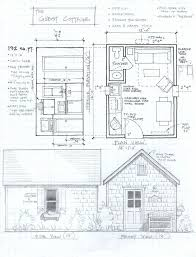 56 best tiny houses plans diagrams images on pinterest small Open Plan House Design Nz 192 sq ft studio cottage small cabin planstiny open plan house design nz
