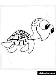 Finding Nemo Crush And Squirt 10 Coloring Pages Various Chronicles
