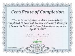 Review Of Udemy's 'become A Product Manager | Learn The Skills & Get ...
