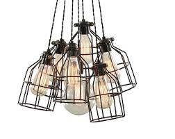 cage lighting pendants. multi pendant light modern lighting cage chandelier pendants