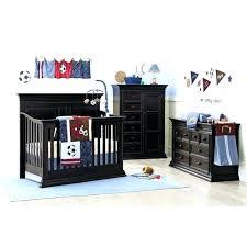 sport crib bedding football sets baby