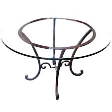 wrought iron tables with glass tops round wrought iron table round wrought iron table base for