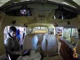 the interior of a cessna 172