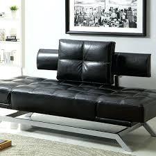 futon sofa black couch costco