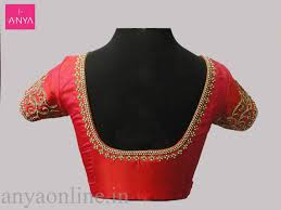 South Indian Blouse Neck Design Designer Indian Blouse Necks Coolmine Community School