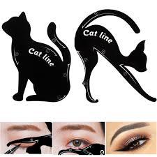 cat eye eyeliner stencil makeup eyes liner stencil models eyeshadow template shaper tool newchic mobile