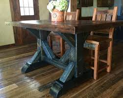 cool dining room table. Modren Cool Cool Waters Rough Sawn Pine Dining Table  36 Intended Room
