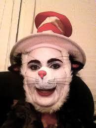makeup artist cat in the hat