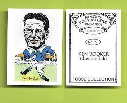 Chesterfield Ken Booker 5 FC