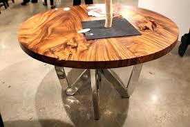 round wood table tops raw wood table top gallery of rustic dining live edge slabs with round wood table tops