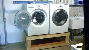 washer and dryer stands. Diy Laundry Pedestal Build Washer Dryer That With Homemade . And Stands