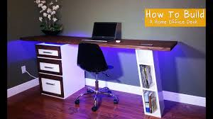 Modern desk office Minimalist How To Build Modern Desk For Your Home Office Guzmansportcom How To Build Modern Desk For Your Home Office Youtube