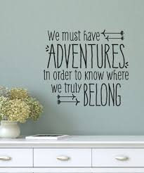 Wall Quotes Amazing Love This Black 'We Must Have Adventures' Decal By Wallquotes By