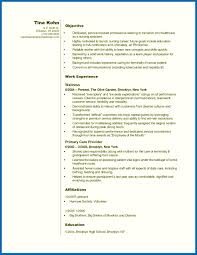 Nursing Resume Objectives Examples Cna Resume Sample With No Work ...