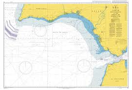 Admiralty Chart 91 Cabo De Sao Vicente To The Strait Of Gibraltar