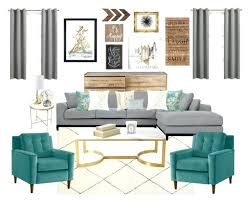 Living Room Turquoise Remodelling Best Decorating Ideas