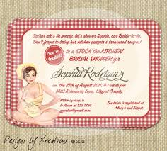 Kitchen Themed Bridal Shower Kitchen Themed Bridal Shower Invitation Templates Best Birthday
