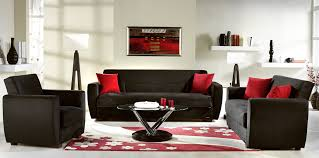 Vanity Red Living Room Set Decorating Ideas Black And Of