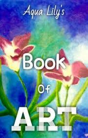aqua lily s old book of art