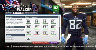 Madden 19 Tennessee Titans Player Ratings Roster Depth