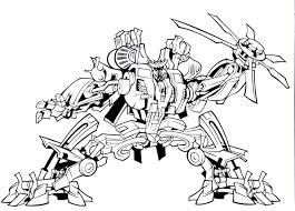 Small Picture Transformers Coloring Pages Coloring Page