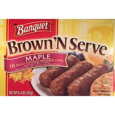 fully cooked sausage links maple